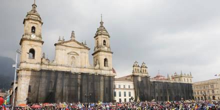Confeniae apoya manifestaciones en Colombia / Foto: EFE