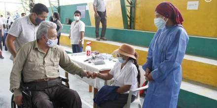 Lenín Moreno prevé 2 millones de vacunados al acabar mandato en mayo / Foto: Cortesía de la Presidencia de la República