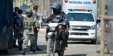 Presunto suicidio de cuatro reclusos en prisión de Guayaquil es investigado / Foto: EFE