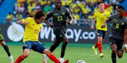 Ecuador empató en Barranquilla y conservó el tercer lugar en las eliminatorias a Catar 2022 / Foto:EFE