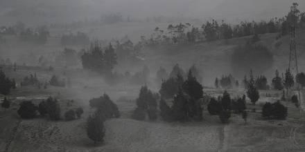 Poblados de seis provincias afectados por ceniza del Sangay / Foto: EFE