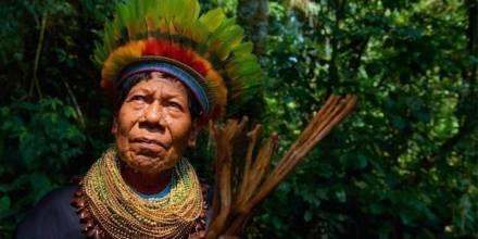 Miembro de la etnia A I Cofán / Foto: Diario Opinión