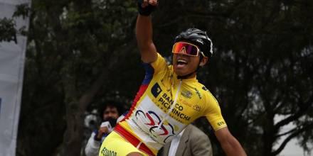 Santiago Montenegro, de Sucumbíos, gana la Vuelta a Ecuador