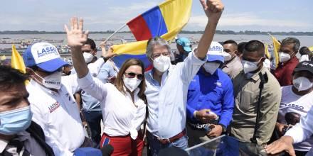 Guillermo Lasso cierra su campaña con un llamado a la unidad nacional / Foto: EFE