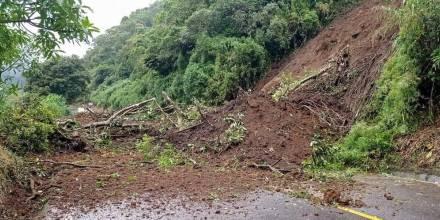 Las lluvias en la Amazonía ponen en riego varios sectores / Foto: cortesía Servicio Nacional de Gestión de Riesgos y Emergencias del Ecuador (SNGRE))