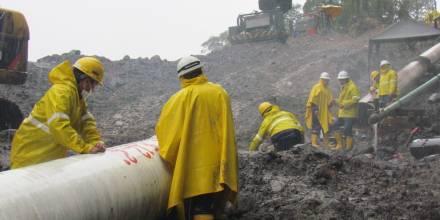 Petroecuador concluyó los bypass del SOTE y Poliducto en San Luis/ Foto: cortesía Petroecuador
