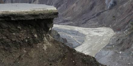 La erosión del río Coca avanzó 1,6 kilómetros en 10 días/ Foto: El Oriente