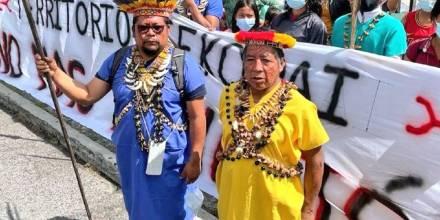 Siekopai demandan desalojo de colonos ante la Corte Nacional / Foto: cortesía Nación Siekopai