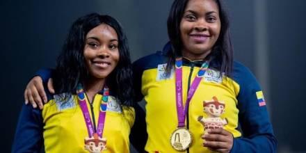 Poleth y Anaís Mendes conquistaron las primeras medallas de Ecuador en la historia de los Juegos Paralímpicos / Foto: cortesía Ministerio de Deportes