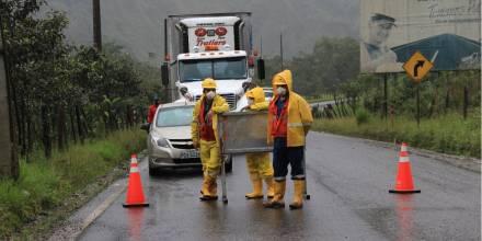 Erosión del río Coca afecta a la carretera Quito-Lago Agrio  / Foto: El Oriente