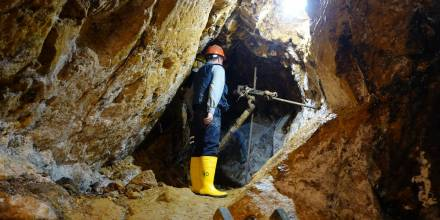 Prevención de riesgos en la minería artesanal y pequeña minería, una revisión teórica de aspectos clave de seguridad y salud ocupacional / Foto: IIGE