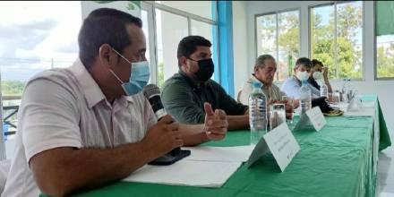 Aguarico urge control en la frontera con Perú / Foto: Cortesía de Municipalidades EC