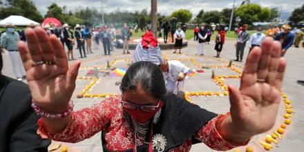 Ecuador honra el equinoccio de otoño con la fiesta de la luna, la Kulla Raymi / Foto: EFE