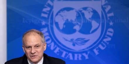 El FMI reconoce que existe un entendimiento importante con Lasso / Foto: EFE