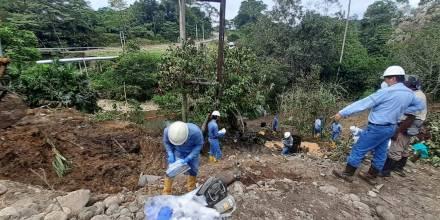 Un nuevo derrame de Petroecuador se registró en Sucumbíos / Foto: cortesía Petroecuador