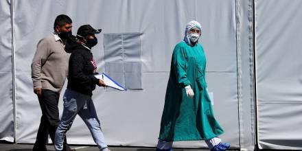 Ecuador suma 153 nuevos contagios por covid-19 / Foto: EFE