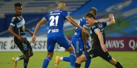 Emelec venció a Macará y avanzó a la fase de grupos de la Sudamericana / Foto: EFE