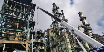Refinería de Esmeraldas recupera el 100% de su capacidad operativa / Foto: cortesía Petroecuador