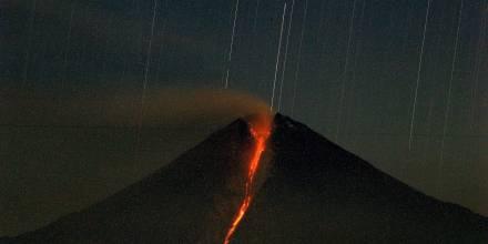 El volcán Sangay ha registrado seis erupciones desde mayo 2019 / Foto: EFE