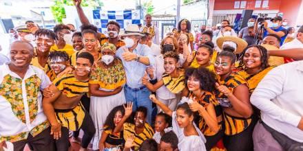 """El """"Teatro del Barrio"""" fue inaugurado / Foto: Ministerio de Cultura"""