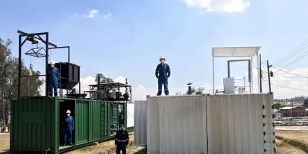 La electricidad y calor generados a la par mediante residuos sólidos / foto IIGE
