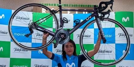 Miryam Núñez liderará al equipo colombiano Liro-Sport en Vuelta a Guatemala/ Foto: EFE