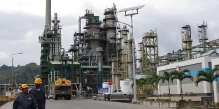 La Refinería de Esmeraldas es una de las principales que opera en el país. (Foto: Ministerio de Energía)