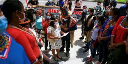 Sáparas denuncian a la ONU vulneración de derechos colectivos / Foto: EFE