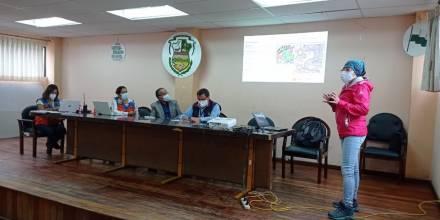 IIGE socializa resultados de estudio realizado en el cantón Chunchi / Foto IIGE
