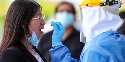 Ecuador registra 356 casos de covid-19 en un día y acumula 302.854 positivos / Foto EFE