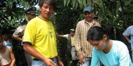 Donald Moncayo, coordinador ejecutivo de la denominada Unión de Afectados por Texaco