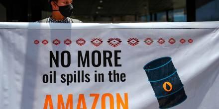 ONGs vigilarán revisión del caso de derrame del 2020 en la Amazonía/ Foto: EFE