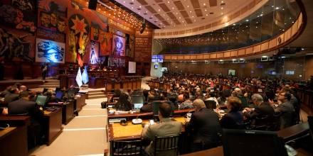 Asamblea Nacional rechaza ley sobre dolarización atada a acuerdo con FMI / Foto EFE