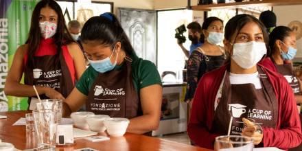La producción sostenible de café amazónico es promovida / Foto: MAG