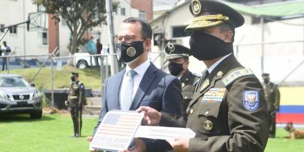 Estados Unidos sigue apoyando al Ecuador en la lucha contra el narcotráfico / Foto: Cortesía de la Embajada de EE.UU.