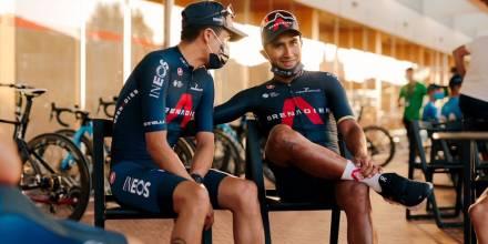 Carapaz, Narváez, Caicedo y Cepeda competirán en la Vuelta a España / Foto: EFE