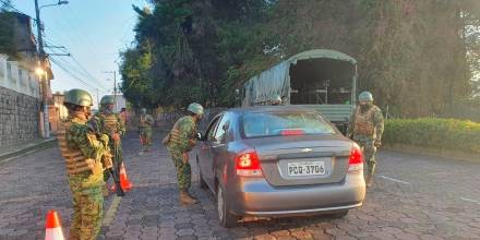 Operativos militares se llevaron a cabo en 13 provincias durante el primer día de excepción / Foto: EFE