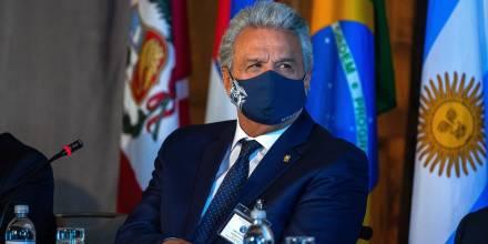 Lenín Moreno reclama por retraso en envío de vacunas para covid-19 / Foto: EFE