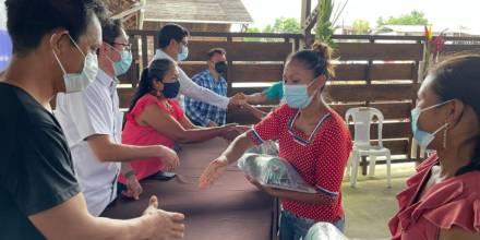 Recibieron kits de poda con herramientas e insumos para la elaboración de bioles orgánicos. / Foto: Cortesía Ministerio de Agricultura