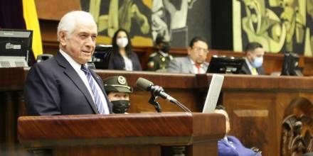 René Ortiz, exministro de Energía, fue censurado en la Asamblea / Foto: cortesía Asamblea Nacional