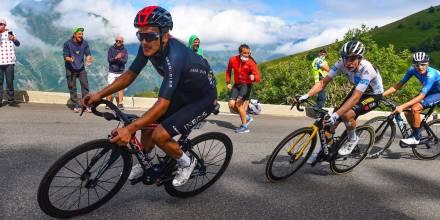 Carapaz sigue haciendo historia en el Tour de Francia / Foto: cortesía Richard Carapaz