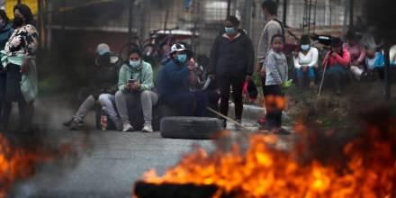 Violencia en Quito marcó jornada de protesta contra el gobierno / Foto: EFE