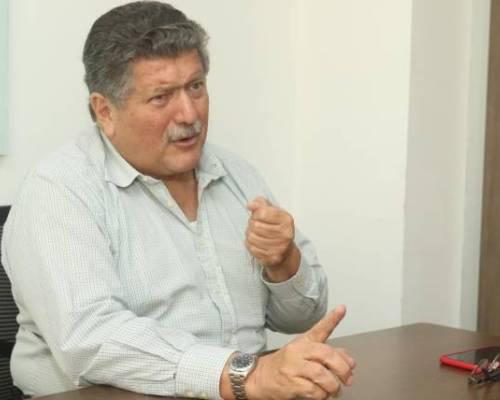 Entrevista al bananero Juan José Pons. Foto: Expreso