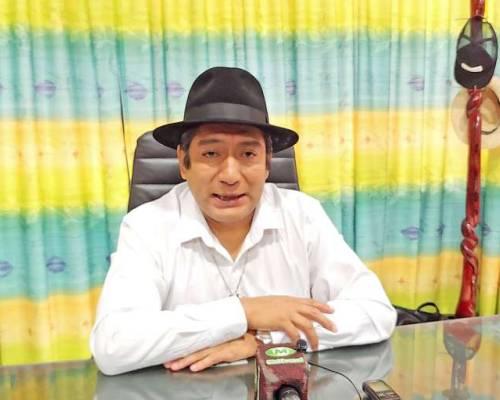 DESPEDIDA. El prefecto de Zamora Chinchipe realiza una evaluación de sus 10 años de gestión al frente del Gobierno Provincial. Foto: La Hora