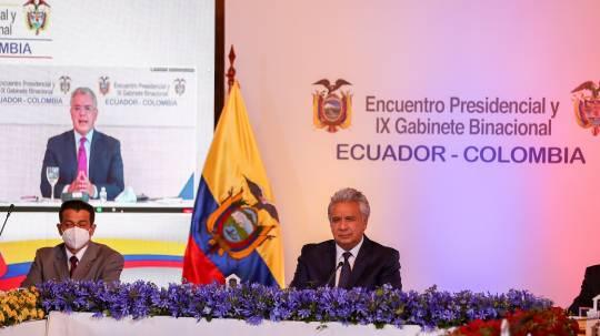 Reitero mi compromiso frente a la presidencia pro tempore que asumiré muy pronto (de la Alianza del Pacífico) de impulsar el ingreso de Ecuador. Foto: EFE
