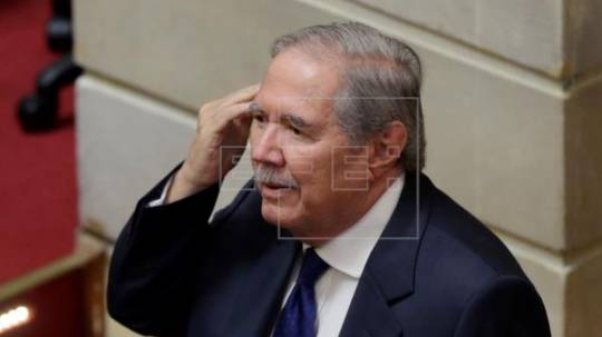Guillermo Botero, ministro de defensa de Colombia. Foto: EFE