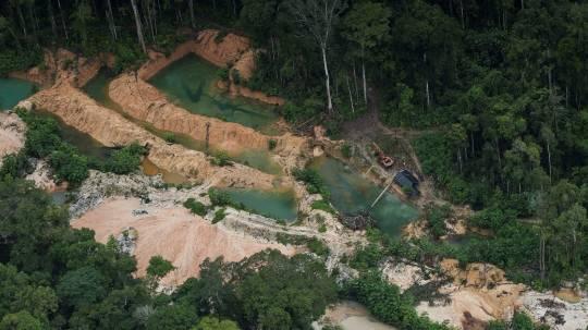 La minería afecta al 31 % del territorio indígena en la Amazonía / Foto: EFE