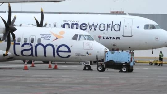 La plantilla de la aerolínea estatal está conformada por más de 900 trabajadores. Archivo Expreso
