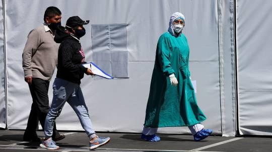 En el 2020, Ecuador registra 38.423 muertes más que en 2019. Foto: EFE
