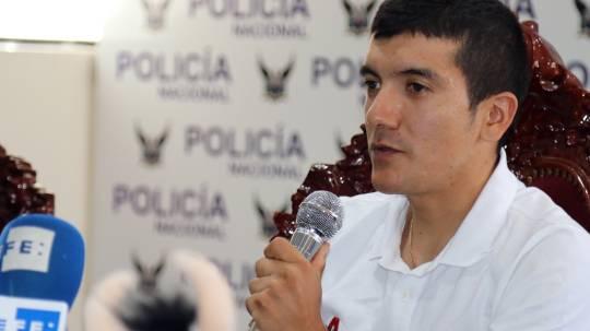 El ciclista ecuatoriano Richard Carapaz ha sido designado como el mejor deportista del año en 2020 por la Asociación de Periodistas Deportivos de Pichincha. Foto: EFE